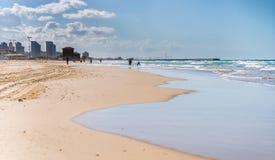 Landscape coast of Mediterranean sea Stock Image
