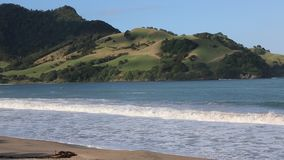 Green hills and Simpsons Beach