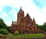 Landscape of coats memorial church, paisley, renfreshire Royalty Free Stock Images