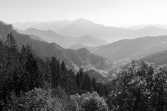 Landscape on the Coll de la botella in area Pal Arisal in Andorra. Between France and Spain Stock Images