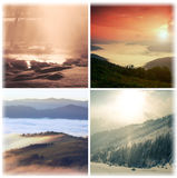 Landscape collage Royalty Free Stock Image
