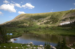 Landscape of Colorado. Landscape of the base Indian Peaks Wilderness, Colorado Stock Images