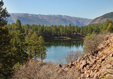 Landscape in the Colorado Rocky Mountains Royalty Free Stock Photos