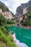 Landscape in Congost de Mont-rebei ,  Spain Royalty Free Stock Photos