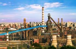 Landscape of construction power Stock Photo