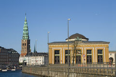 Landscape in Copenhagen Royalty Free Stock Images