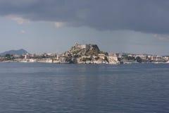 Landscape of Corfu in Greece Stock Photos