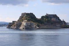 Landscape of Corfu in Greece Royalty Free Stock Photo