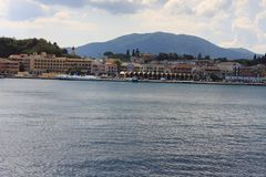 Landscape of Corfu in Greece Stock Photography