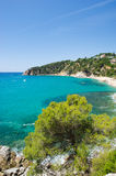 Landscape Costa Brava Royalty Free Stock Photos