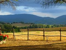 Landscape in countryside Stock Photos
