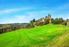 Landscape of countryside.Tuscany, Italy. Stock Images