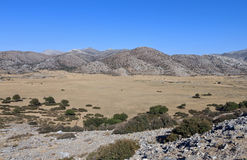 Landscape from Crete island, Greece Royalty Free Stock Photo