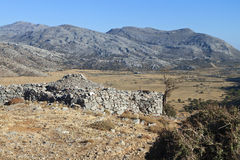 Landscape from Crete island, Greece Royalty Free Stock Photos
