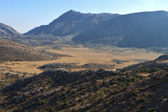 Landscape from Crete island, Greece Stock Photography