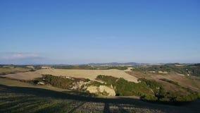 Landscape of Crete Senesi stock video footage