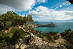 Landscape of Crimea seacoast Royalty Free Stock Photos