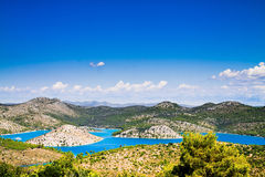 Landscape in Croatia Royalty Free Stock Photography