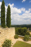 Landscape in the region of Luberon, France Stock Images