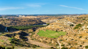 Landscape of Cyprus near Kourion Royalty Free Stock Photography