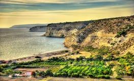 Landscape of Cyprus near Kourion Royalty Free Stock Photo