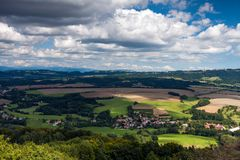 Landscape in the Czech Republic Stock Photo