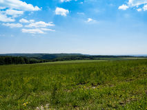Landscape in Czech republic, Moravia Royalty Free Stock Images