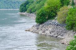 Landscape on the Danube Stock Photos