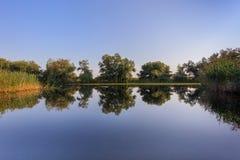 Danube Delta, Romania. Landscape in the Danube Delta, Romania, Europe royalty free stock photos