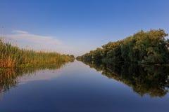 Danube Delta, Romania. Landscape in the Danube Delta, Romania, Europe royalty free stock image