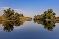 Danube Delta, Romania. Landscape in the Danube Delta, Romania, Europe stock photos