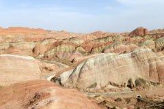 Landscape of Danxia landform Royalty Free Stock Image