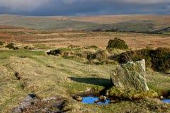Landscape in Dartmoor National Park, Devon Stock Photos