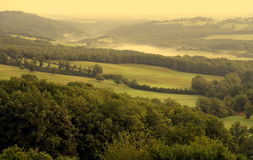 Landscape at dawn Stock Photography