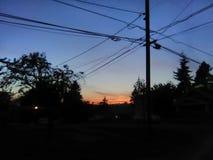 Landscape& x27 de coucher du soleil d'amour ; s ils sont absolument beaux images libres de droits