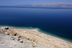 Landscape of the Dead Sea Royalty Free Stock Images