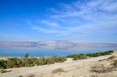 Landscape of  the Dead Sea Royalty Free Stock Photography