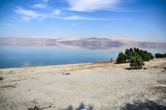 Landscape of  the Dead Sea Stock Photos