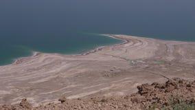 Landscape of the Dead Sea Israel stock video footage