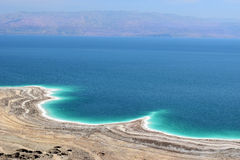 Landscape of the Dead Sea, Israel Royalty Free Stock Image
