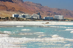Landscape of the Dead Sea, Israel Royalty Free Stock Photos