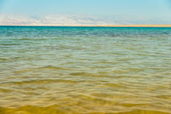 Landscape with dead sea Stock Image