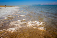 Landscape with dead sea Royalty Free Stock Photo
