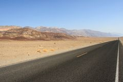 Landscape of death valley Royalty Free Stock Photography