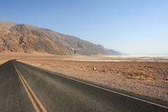 Landscape of death valley Royalty Free Stock Image