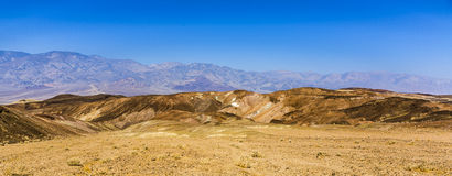 Landscape in Death Valley National Park Stock Image