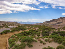 Landscape in Death Valley National Park Royalty Free Stock Photos