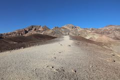 Landscape in Death Valley National Park. California Stock Image