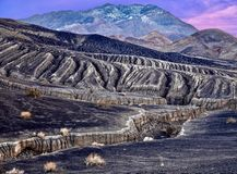 Landscape in Death Valley National Park. Royalty Free Stock Photos
