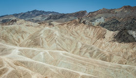 Landscape in Death Valley National Park. Zabriskie Point, Death Valley, California, USA California, USA Stock Image